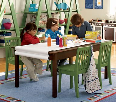 Pottery Barn Kids Train Table