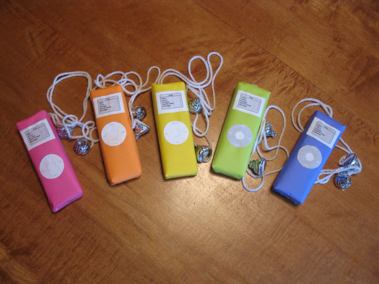 iPod party favors