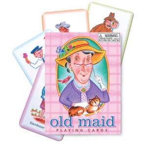 eeBoo Old Maid cards
