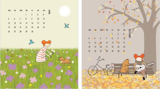 April October