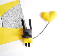 I have a yellow heart by krize