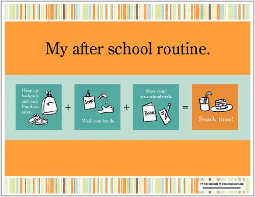 school_routine_chart