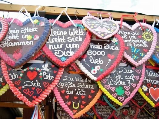 Hearts at Oktoberfest