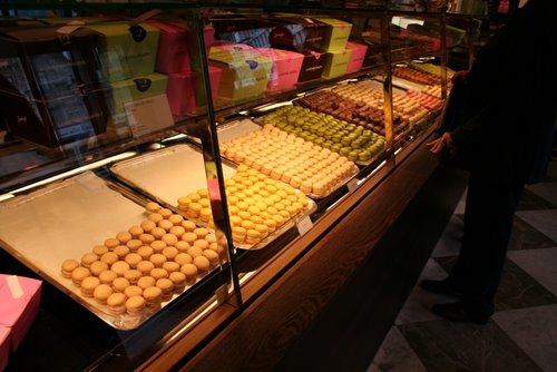 Macarons at Sprungli