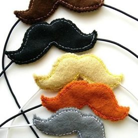 Mustaches by Lupin