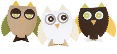 Owl Placecard Kit
