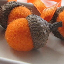 truLuxe Orange acorns