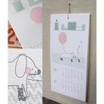 2010 Ink + Wit LetterpressCalendar