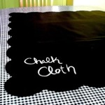 Chalk Cloth Table Topper by ModernJune
