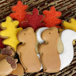 Eleni's Shades of Fall cookies