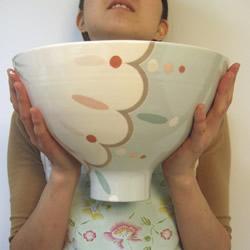 Low wide Coper bowl by Jill Rosenwald