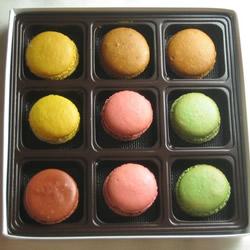 9 French Macarons by LemonadeStandNYC