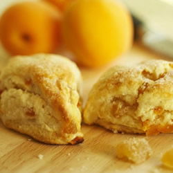 Apricot Ginger Scones by Kitchen Witch