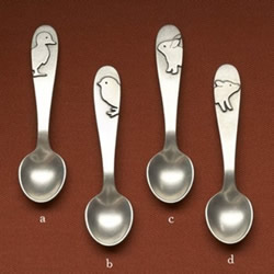 Baby spoons by beehivekitchenware