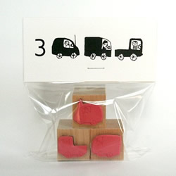 Beep beep car stamp set by The Small Object