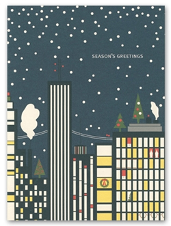 City Holiday Cards by Snow and Graham