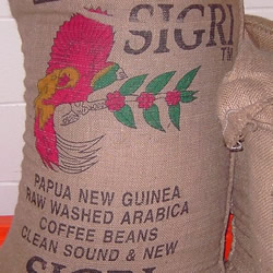 Fair trade and organic Papua New Guinea coffee by The Roaster