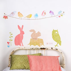 Forest Critters Wall Stickers by Mae