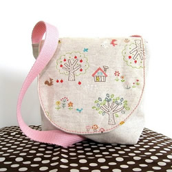 Forest Friends Little Kid Satchel by Mee a Bee
