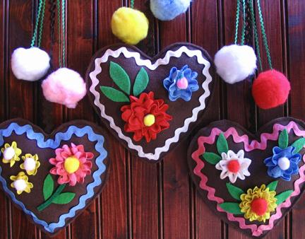 Gingerbread Hearts by MadeWithLovebyHannah