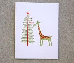 Giraffe Merry by Egg Press