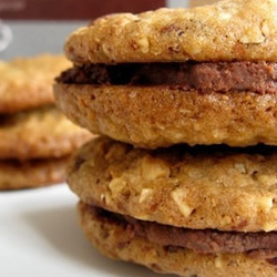 Hazelnut Chocolate Whisky cookies by WhimsyandSpice