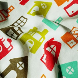 House tea towel by PataPri