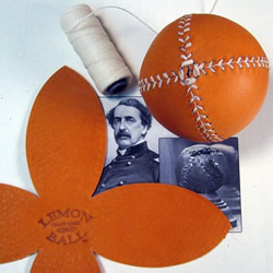 Lemon Ball vintage style baseball by LemonBall