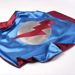 Little Hero Lightning Cape by Discovery Denim
