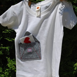 love letter shirt by bchildrenswear