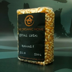 Organic Home Popcorn by The Organic Home