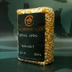 Organic Home Popcorn by The Organic Home