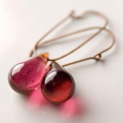 Plum Earrings by Betsy3