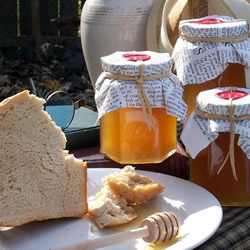Pure Raw Honey by Green Leaf Apiary