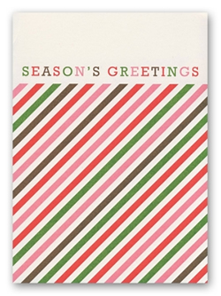 Stripes Holiday by Snow and Graham