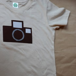 Vintage Camera tshirt by bchildrenswear