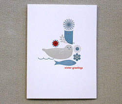 Winter Greetings by Egg Press