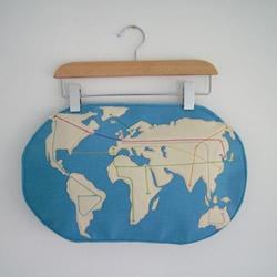 World Metro Map Pillow by atelierpompadour