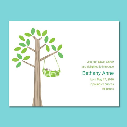 baby announcement cards free template - Yeni.mescale.co