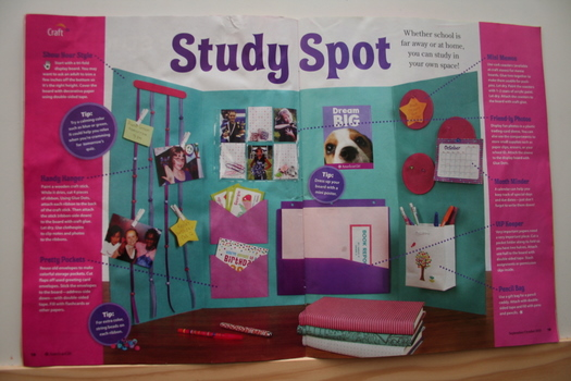 Study Spot American Girl Magazine