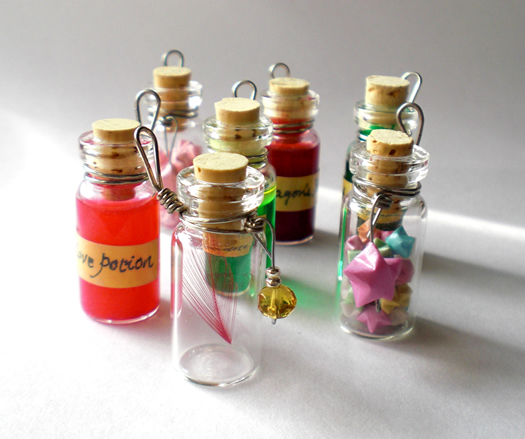halloween potions bottle craft