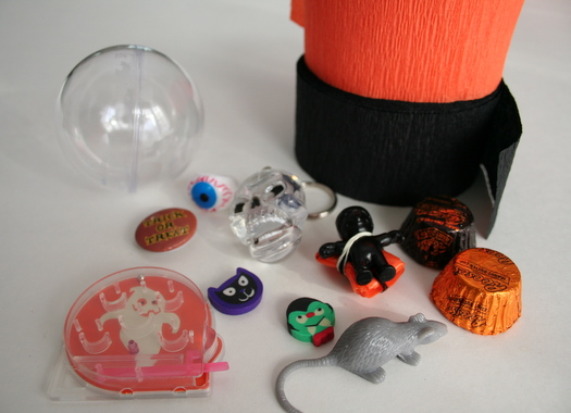 Halloween trinkets for surprise balls