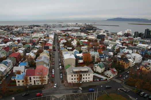 photos of Reykjavik Iceland