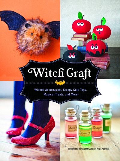 witch craft crafting book by quirk books