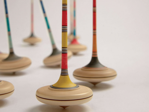 Ara Wooden Spinning Top by Mader