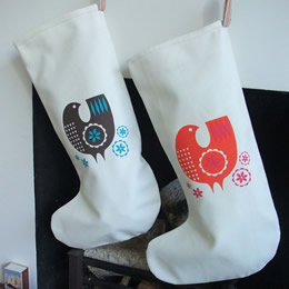 Handmade Christmas Stockings by Roddy & Ginger