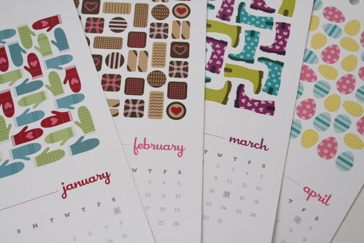 2011 calendar by Flowers in May