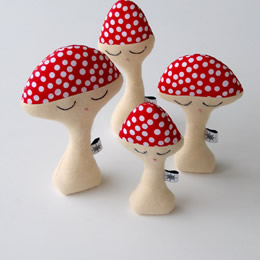 Night Night mushrooms by Flying Star Toys
