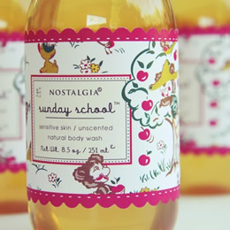 Organic bath wash by Nostalgia Organics
