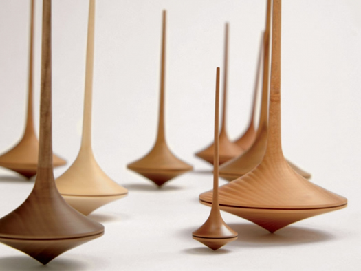 Trumpo Spinning Tops by Mader